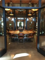 """The """"Verticle"""" Tasting Room - At least 1 bottle of every vintage ever produced by Joseph Phelps is in this room"""